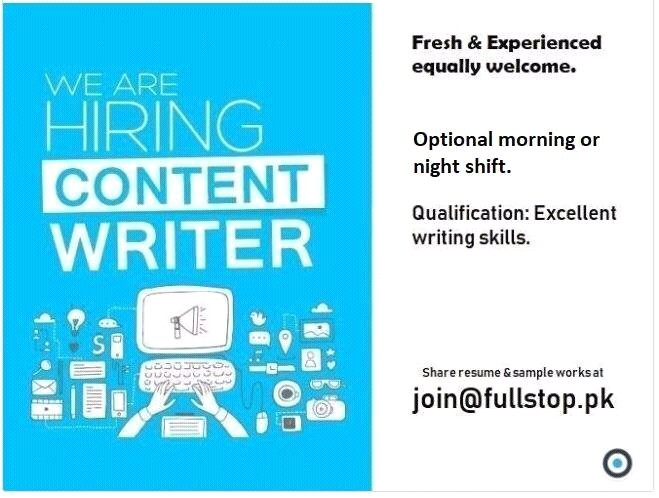 4 aug content writer